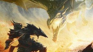 Artwork from Skyrim