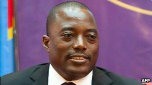 DR Congo's President Joseph Kabila