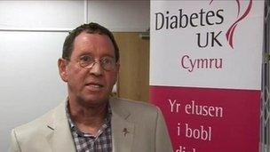 Dai Williams, Diabetes UK Cymru