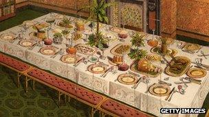 Illustration from Mrs Beeton's book