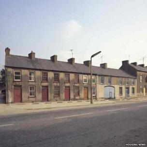 Dromore Street in Banbridge 1973