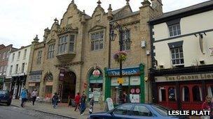 Wrexham's Butchers Market, off High Street