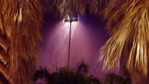 Rain at Punta Cana Airport