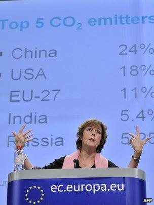 EU climate commissioner Connie Hedegaard