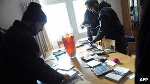 Office at British embassy in Tehran ransacked, 29 Nov 2011