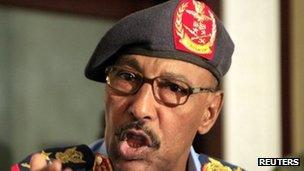 Sudan's Defence Minister Abdelrahim Mohamed Hussein. Photo: September 2011