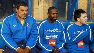 Socrates and Garforth team-mates