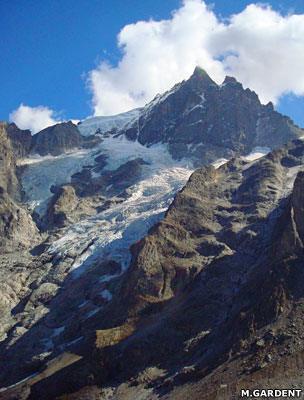 Glacier de la Meije (Ecrins massif)