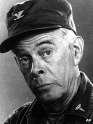 Mash Star Harry Morgan Dies Aged 96 Bbc News