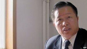 Gao Zhisheng at his Beijing office