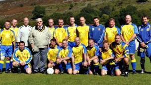 Cwmaman Institute FC. Pic: Shaun Rees