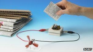 Prototype battery