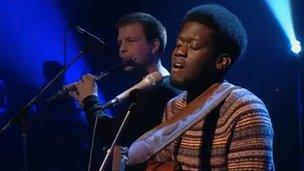 Michael Kiwanuka on Later... With Jools Holland