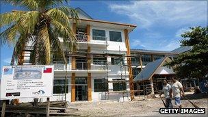 Tuvalu administrative headquarters