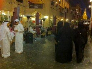 People in Doha