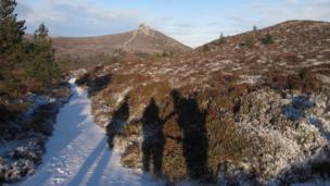 Hills near Kemnay, Aberdeenshire