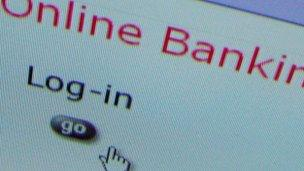 Online bank login