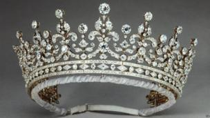 Diamond encrusted tiara