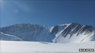 Mount Vinson. Pic: Bob Kerr