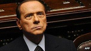 Silvio Berlusconi (file image)
