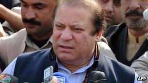 Nawaz Sharif speaks in Islamabad (12 Jan 2012)