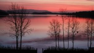Sunrise over Loch Lomond