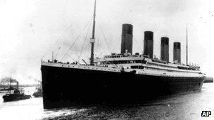 File photograph of the Titanic
