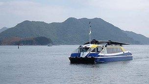 The Solar Albatross ferry