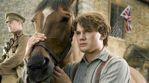 Golygfa o ffilm War Horse