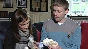 Caoimhe Campbell and Gavin Burke