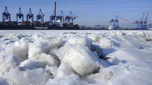 The cold weather has seen gas demand soar across Europe