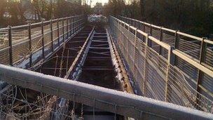 Ulverston Canal bridge