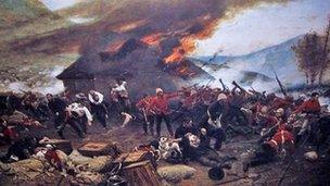 The Defence of Rorke's Drift, by de Neuville