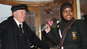School Reporter Hawa from St John Wall Catholic School in Birmingham finds out more about the Torch Relay route coming to her local areas when she visited the Black Country Living Museum