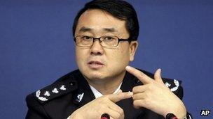 Wang Lijun, file pic, 2008