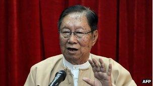 National League for Democracy (NLD) spokesman Nyan Win