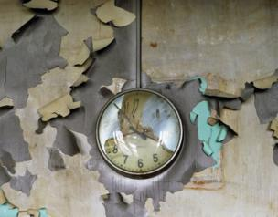 Melted Clock, Cass Technical School, 2008