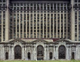 Michigan Central Station, 2007