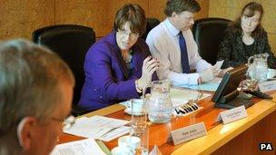 Caroline Spelman chairing the summit
