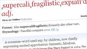 supercalifragilisticexpialidocious what does it mean bbc news