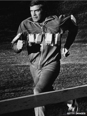 Image result for bionic man running