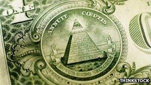 Freemasons' pyramid symbol