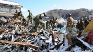 Japan's contradictory military might - BBC News