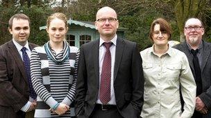 Dr David Bennett, Dr Jennifer Perrin, Prof Christian Schwarzbauer, Susanne Merz, Prof Ian Reid