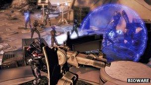 Screenshot from Bioware