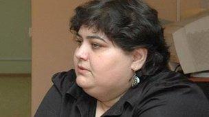 Khadija Ismayilova (from her Facebook page, courtesy of Khadija Ismayilova)
