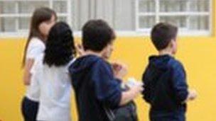 Brazilian schoolchildren. File photo