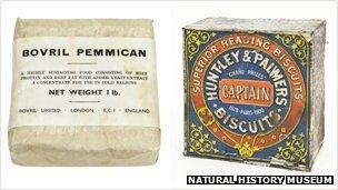 Pemmican and biscuits