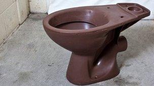 Chocolate toilet