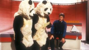 John Craven, Newsround's first presenter, in 1973